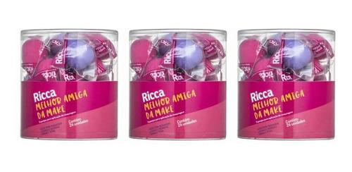 Ricca Esponja Makeup Perfect M C/24 (kit C/03)