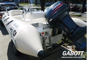 Semirrigidos Kiel 460 Con Motor Yamaha 40 Hp Gabott