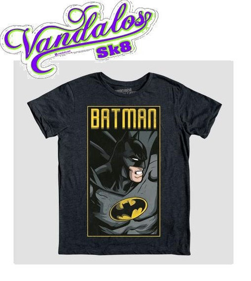 Playera The Batman Máscara De Látex