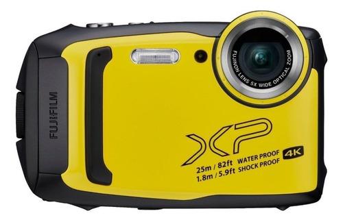 Fujifilm FinePix XP140 compacta cor  amarelo