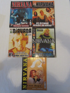 Coleção Nirvana - Revistas, Posters E Recortes