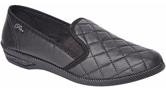 Zapato Cerrado Dos Elásticos Mujer Pira Art 392