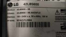 Kit Barras De Led Tv Lg 42lb5500 42lb5600 42lb5800 42lb6200