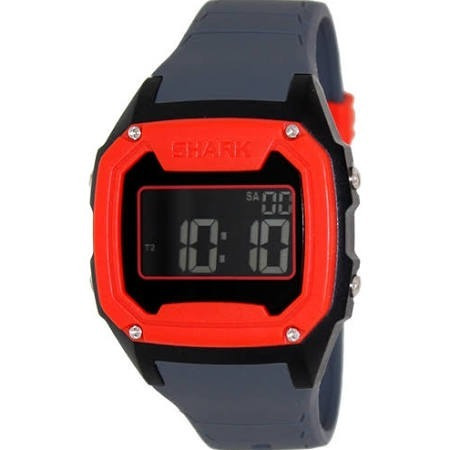 Relógio Freestyle Killer Shark Silicon Cinza Vermelho