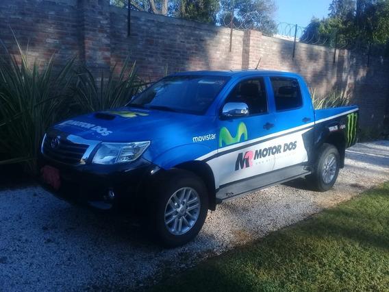 Toyota Hilux 4x4 C/d Srv 3.0 Tdi Cuero 40.000 Km