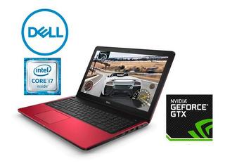 Notebook Dell Inspiron 7559 I7 Gamer Roja - Excelente Estado