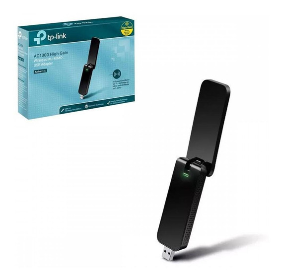 Adaptador Usb Wireless Ac1300 Tp-link Archer T4u Dual Band