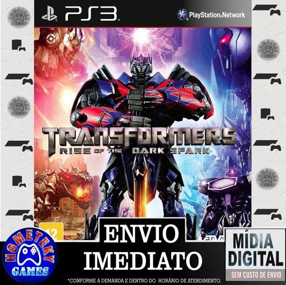 Transformers Rise Of The Dark Spark Edição Ouro Psn Ps3