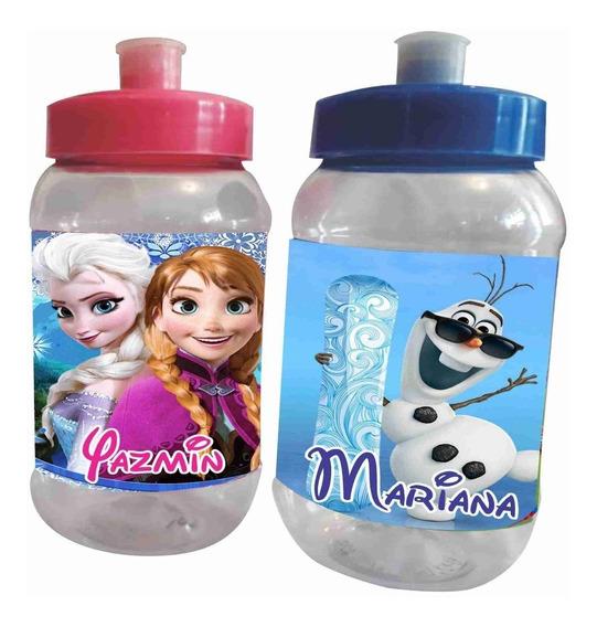 30 Vasos Cilindros Frozen Dulceros Personalizados Recuerdos