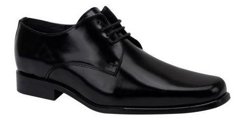 Zapatos De Vestir Uomo Di Ferro 810 Caballero Color Neg Ps.