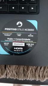 Notebook Positivo 4gb Hd500gb