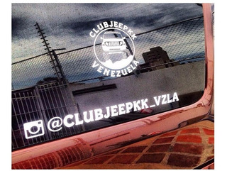 Calcomania Del Club Jeep Kk Venezuela