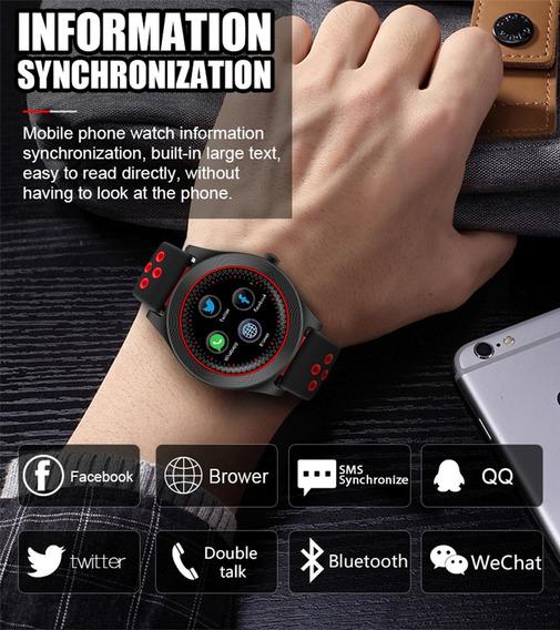 V11 Bluetooth Reloj Inteligente Petómetro Reloj Pulsera Con