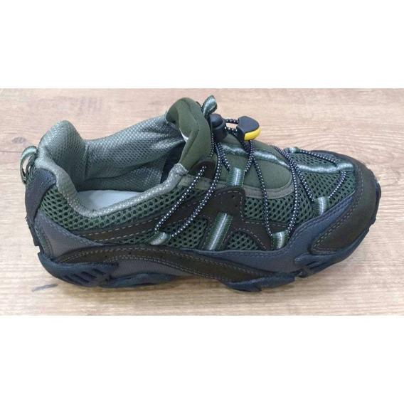 Tênis Tobogan Expert 59080 - Verde - Delabela Calçados