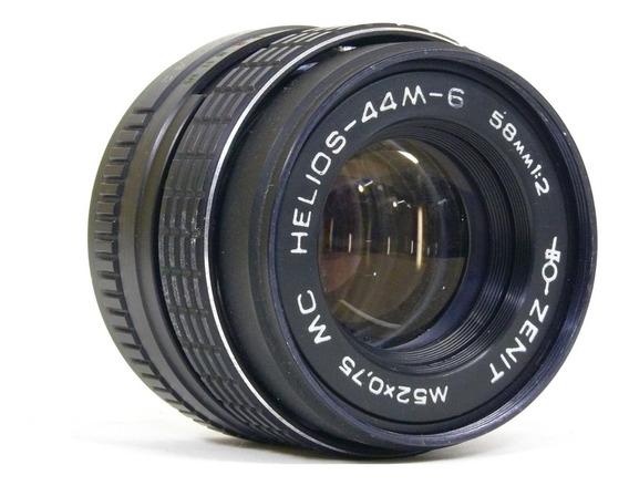 Objetiva Helios-44m-6 Mc 58mm 1:2 Rosca M42