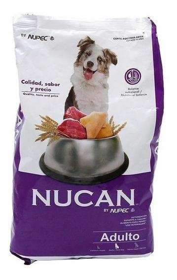 Nucan Adulto 25kg. Croquetas Alimento Perro Envío Gratis