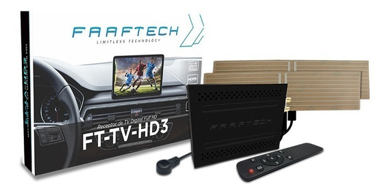 Receptor Tv Digital Full Hd Saida Hdmi Faaftech Ft-tv-hd3