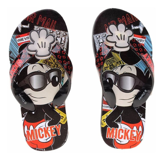 Ojotas Disney Mickey Con Luces Original Addnice Mundo Manias