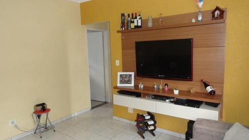 Apartamento À Venda, 59 M² Por R$ 195.000,00 - Jardim Casqueiro - Cubatão/sp - Ap4266