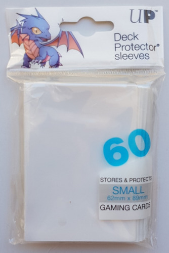 Micas Ultra Pro Small Deck Protector White - Blanco