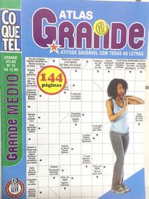 Kit 4 Cruzadas Diretas Coquetel 144 Paginas