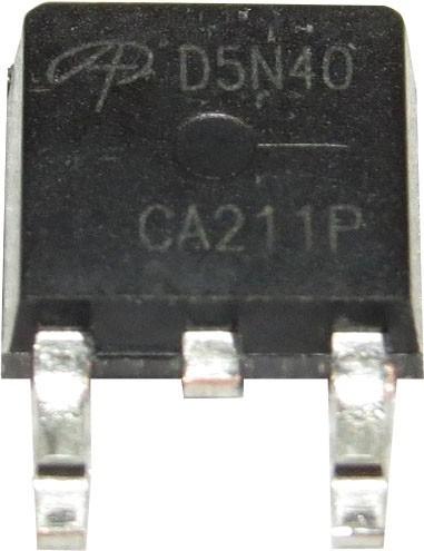 Transistor Mosfet Aod5n40 D5n40 5n40 Smd To252 Original!