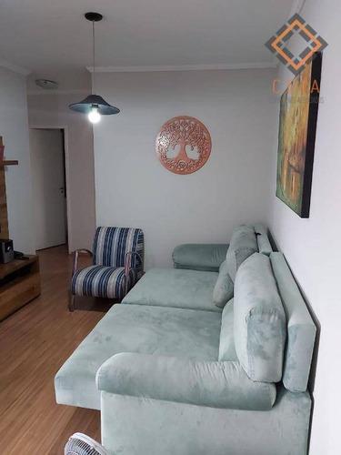 Apartamento Com 3 Dormitórios À Venda, 75 M² Por R$ 499.000,00 - Vila Mascote - São Paulo/sp - Ap41948