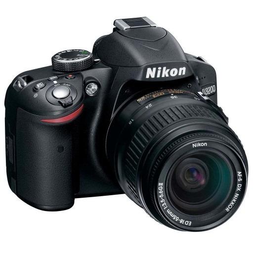 Câmera Nikon D3200- Af-dx Lente 18-55mm