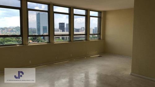 Sala Para Alugar, 220 M² Por R$ 16.000,00/mês - Jardim Paulistano - São Paulo/sp - Sa0001