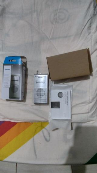 Radio Portatil Philips Ae1500s Am/fm Silver