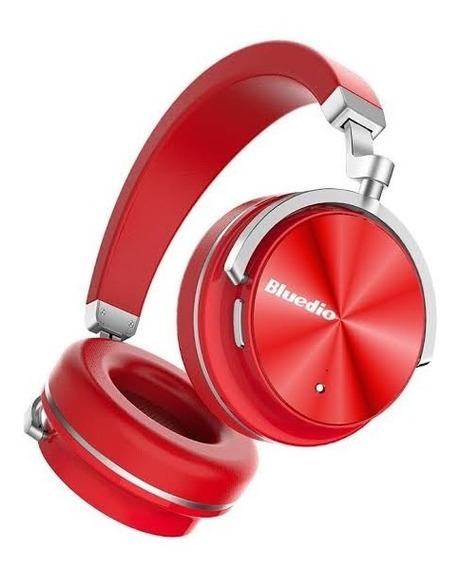 Fone Bluedio T4s Bluetooth C/ Cancelamento De Ruído Vermelho
