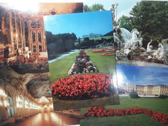 Lote 5 Postales Ciudad De Viena (austria) - Sin Usar