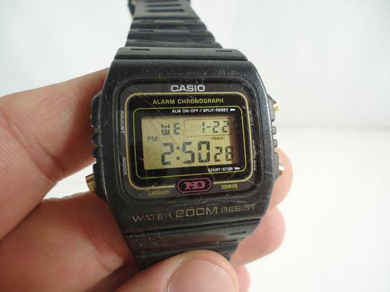 Casio Hd 200m Dw-270 Mod.690 Série Ouro - 80