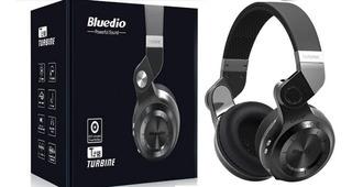 Fones Bluetooth De Alta Qualidade Turbine Bluedio T2s Gamer