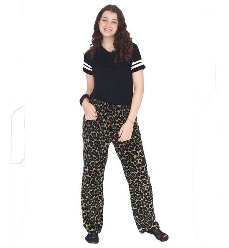 Imagen 1 de 9 de Pijama Pantalón Corderito De Mujer Super Suave