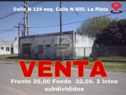 Venta Casa Con Amplio Lote En La Plata