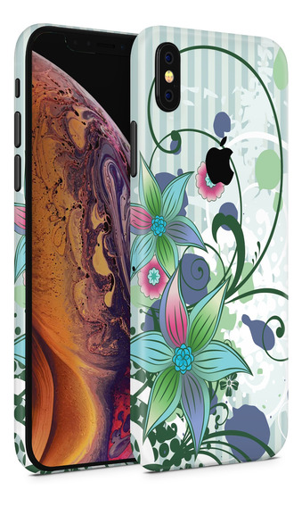 Skin Floral V1 Para Telefonos Apple iPhone