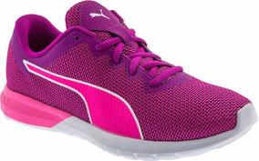 Tenis Puma Vigor Ultra Magenta Rosa Para Mujer 189534-01