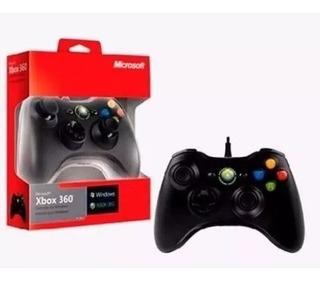 Control De Xbox 360 Microsoft / Pc Usb Alambrico - Tienda!!