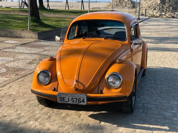 Volkswagen Fusca 1500 Laranja