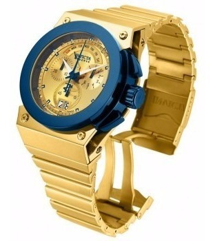 Invicta Reserve Akula Gold 14520 No Brasil Legal Selo Ipi