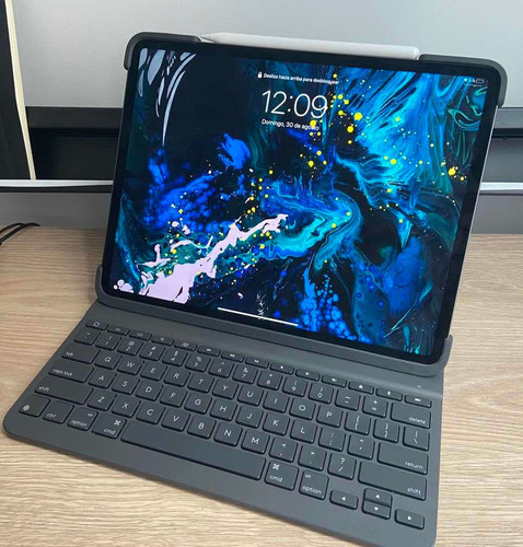 Logitech Slim Folio Pro Para iPad Pro 12.9 (3ra Gen)
