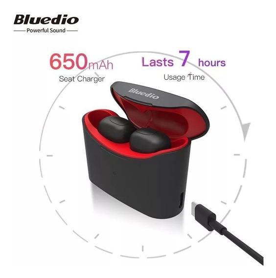 Fone Bluetooth 5 Bluedio T Elf Totalmente Sem Fio Tws T-elf Android Ios