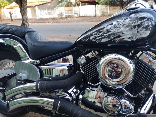Imagem 1 de 13 de Vendo Moto Drag Star 650cc 2007/2007 Extremamente Conservada