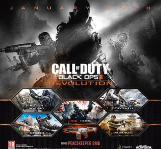 Dlc Revolution Para Call Of Duty: Black Ops Ii Ps3 Digital
