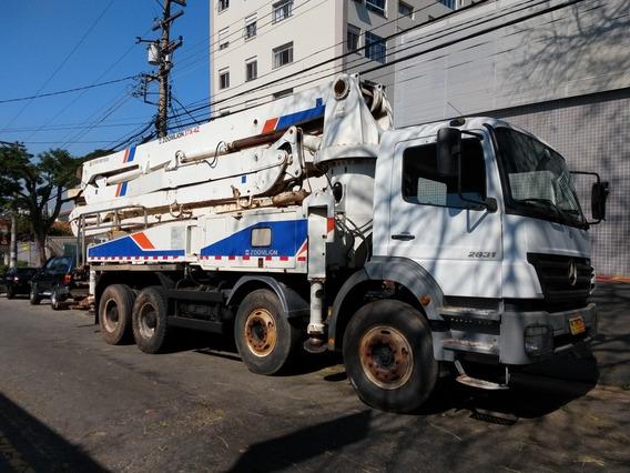 Mb Axor 2831 8x4 Bomba De Concreto