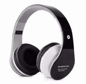 Head Fone Bluetooth Usb Sem Fio De Ouvido Micro Sd