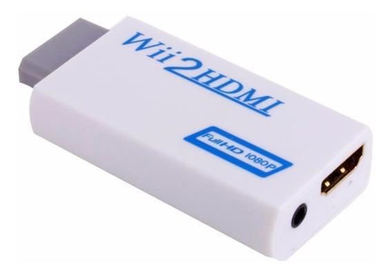 Adaptador Nintendo Wii Hdmi Tv Monitor Hd Audio Home Theater
