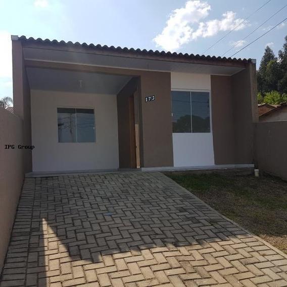 Casa Para Venda Em Ponta Grossa, Jardim Carvalho, 2 Dormitórios, 1 Vaga - L-0051_1-1112989