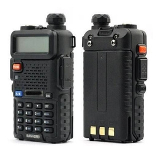 Kit 10 Rádio Comunicador Baofeng Dual Band Walk Talk Uv5r